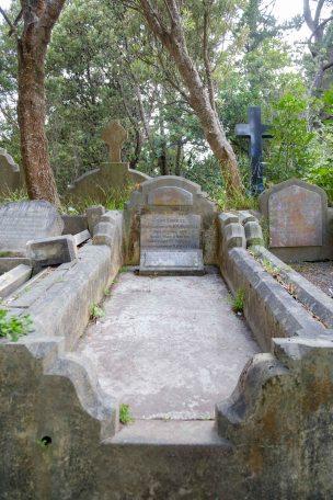 John Waistell's grave