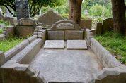 Percy James' grave