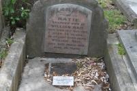 Katie Rait's headstone
