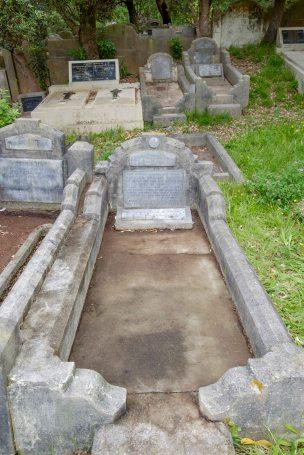 Charles Martin's grave