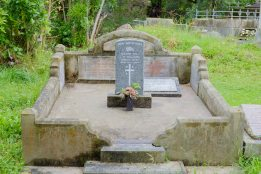 William Williams' grave