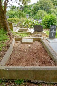Clara Rittner's grave