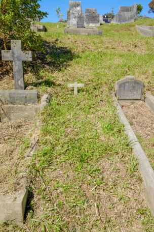 Margaret Sheehan's grave - before photo