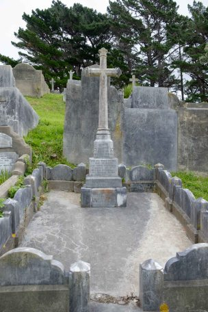 John O'Connell's grave