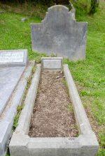 Nia Clarke's grave