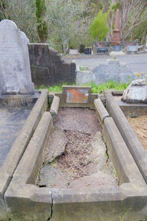 Ernest Durning's grave